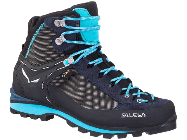 Salewa Crow GTX Shoes Women Premium Navy/Ethernal Blue